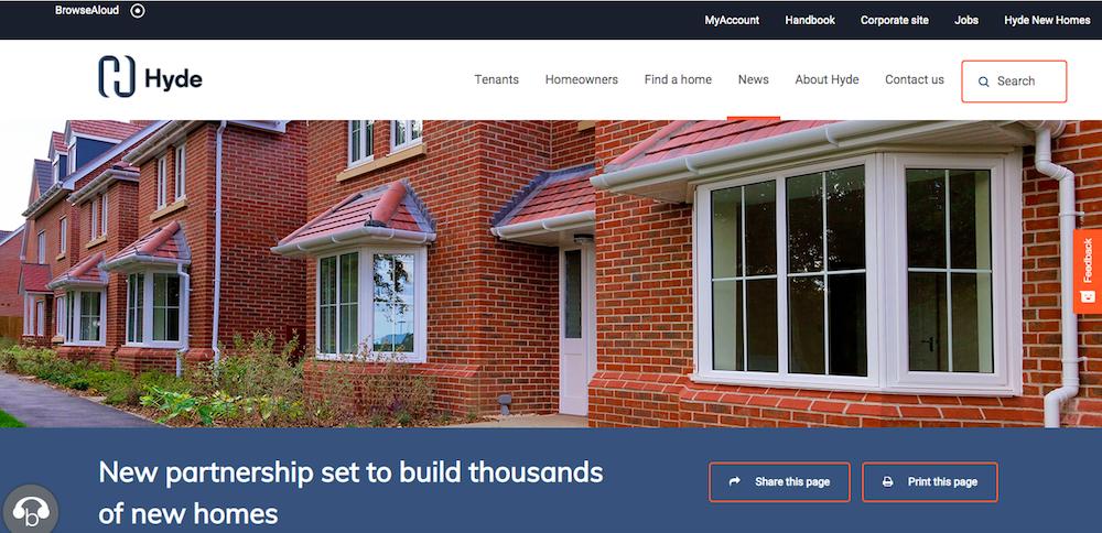 Hyde new partnership image: selling shared ownership portfolios